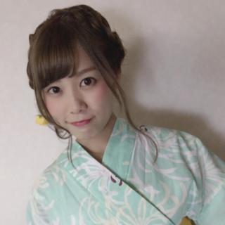 松山莉奈の着物
