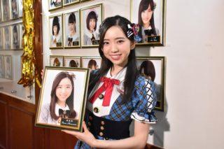 AKB48のチーム8濵松里緒菜の