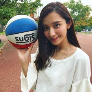 ミス関学No3大西百合子のバスケ画像