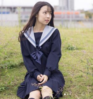 ミス立命館No.5橋本麻由の制服画像